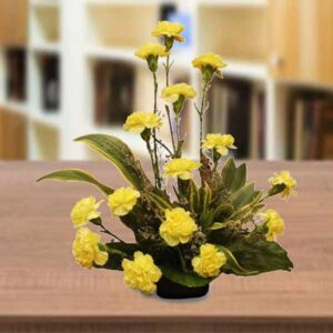 yellow carnations online delivery