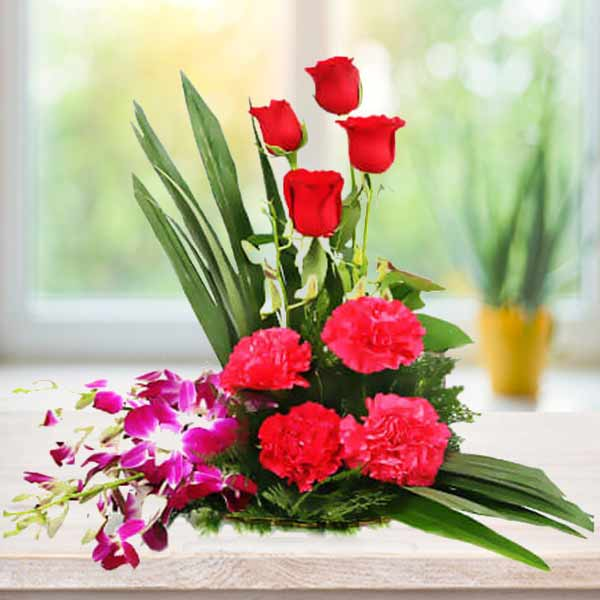 send Carnations and roses online