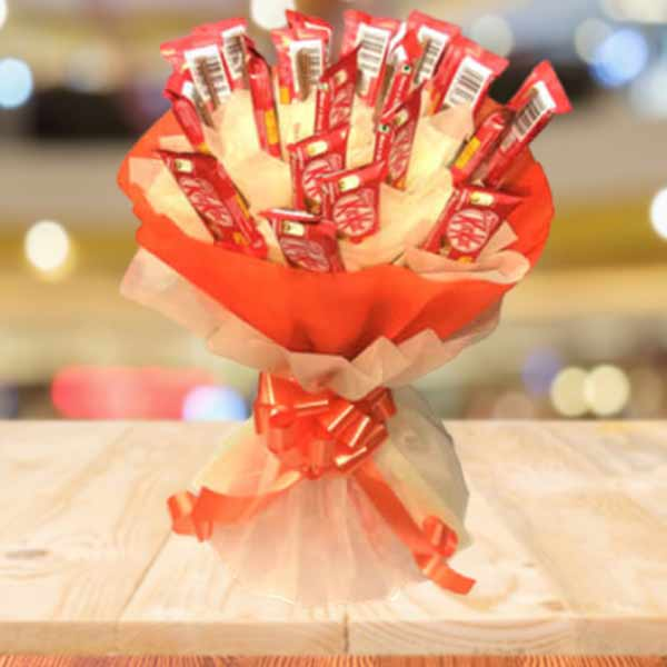 Kitkat chocolate bouquet online delivery