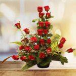 order rose bouquet online