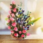 mix flower arrangement online delivery