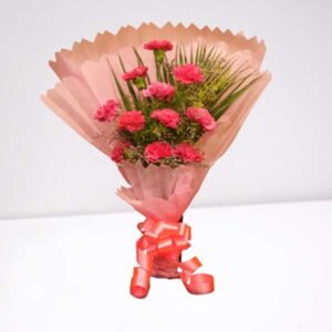 pink carnation bouquet online delivery