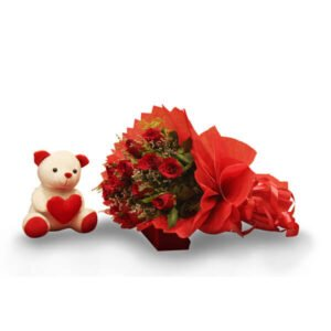 send Roses & Teddy online