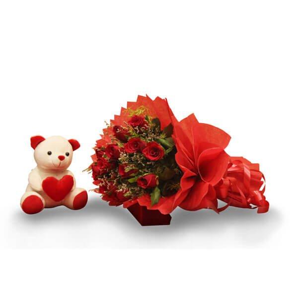 send Roses & Teddy online