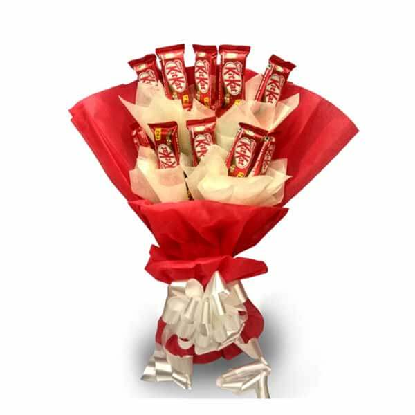 online Kitkat Bouquet delivery