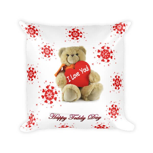 Teddy Day Cushion