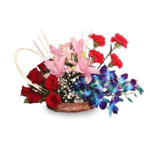 order flower basket online