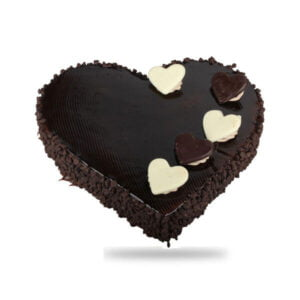 Heart Shape Chocolate Truffle cake online delivery