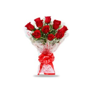 send red rose bunch online
