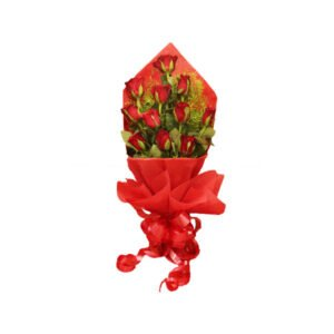 Awesome Red Rose Bunch Online