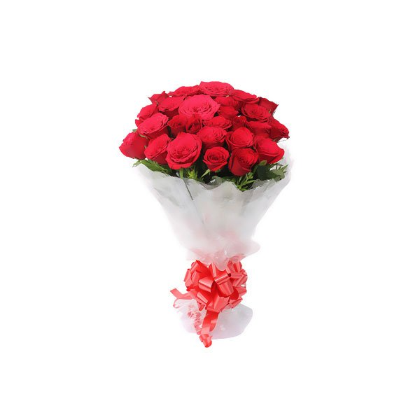 bouquet of 24 red roses online delivery