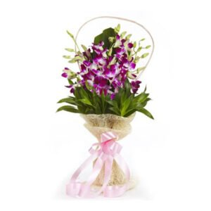 send orchid bouquet online