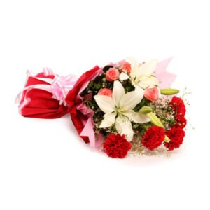 order bouquet of carnations and lilies online