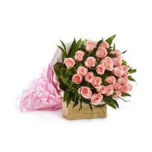 send bouquet of pink roses online