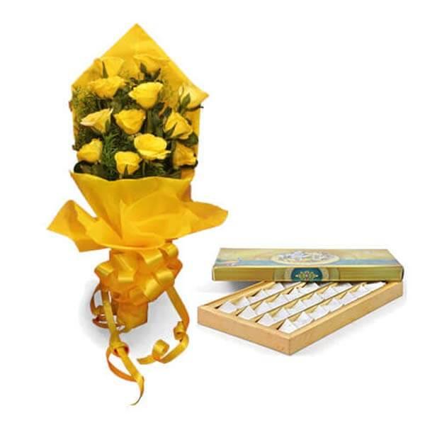 order Roses & Sweets online