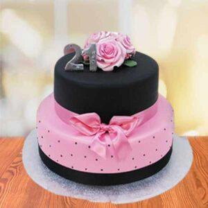 order 2 tier cake online