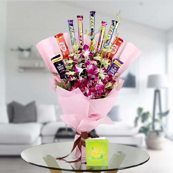 send orchids and chocolates online