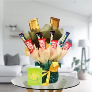 Chocolate arrangement