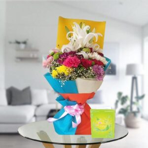 order online mix flower bouquet