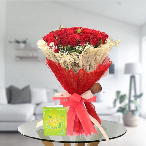 gift rose bouquet online