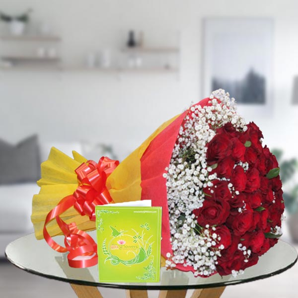 red rose bouquet online delivery