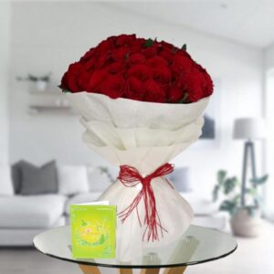 50 rose bouquet
