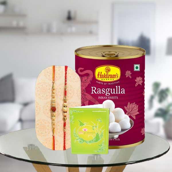 rakhi and rasgulla