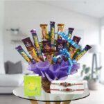 rakhi and mix chocolates