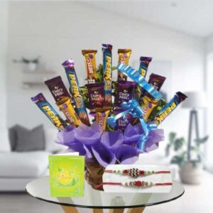 rakhi and mix chocolates