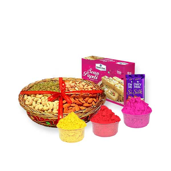 dry fruits gulaal chocolates soan papdi