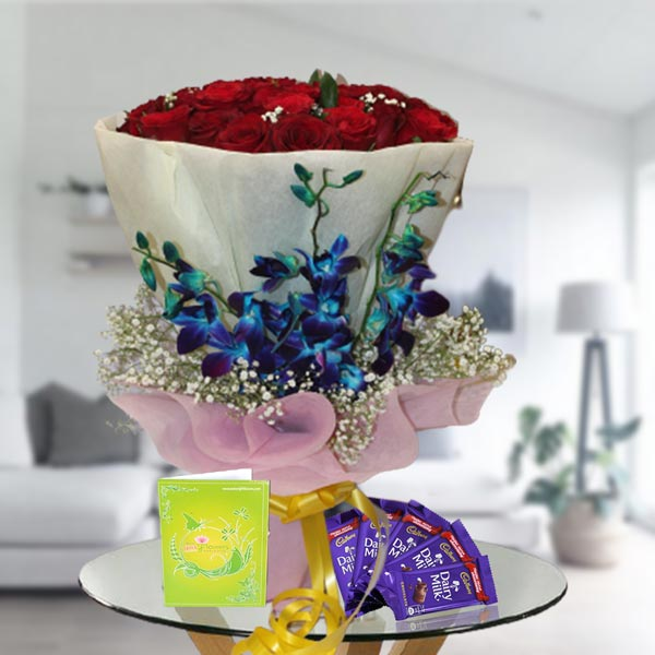 roses orchids and chocolates