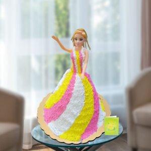 Cute Doll Cake