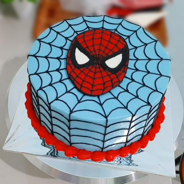 spiderman cake online delivery