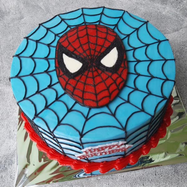 spiderman cartoon cake online delivery