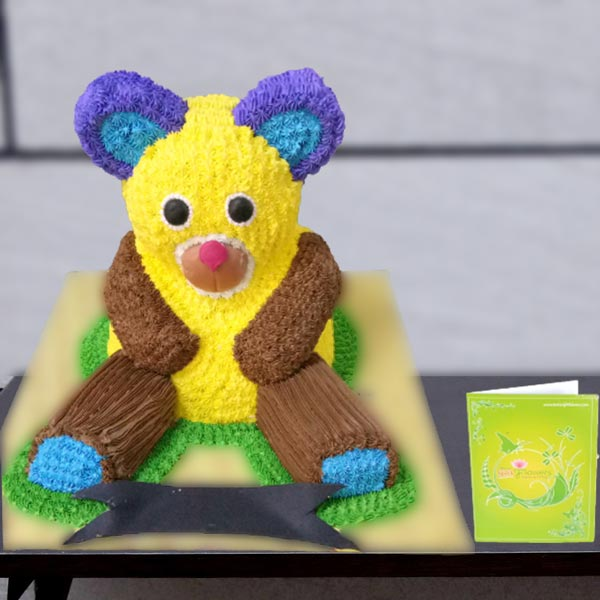 teddy bear cake online delivery