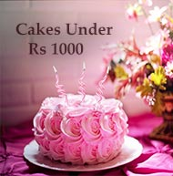 cakes under rs 1000